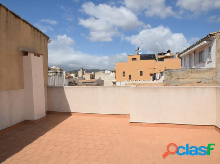 Ático recién reformado con terraza en santa catalina