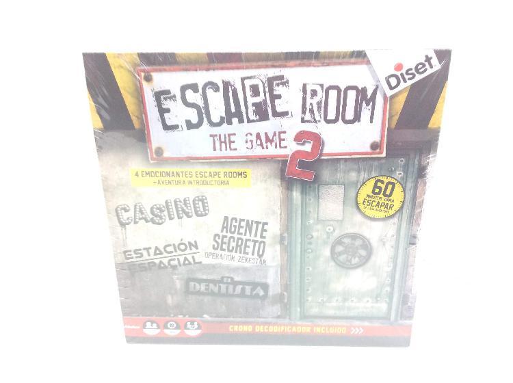 Juegos de mesa diset escape room 2