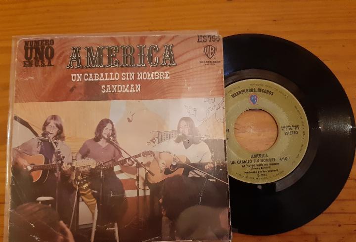 America. un caballo sin nombre. sandman. wb. españa. hs