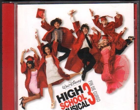 High school musical 3 - fin de curso - walt disney / cd