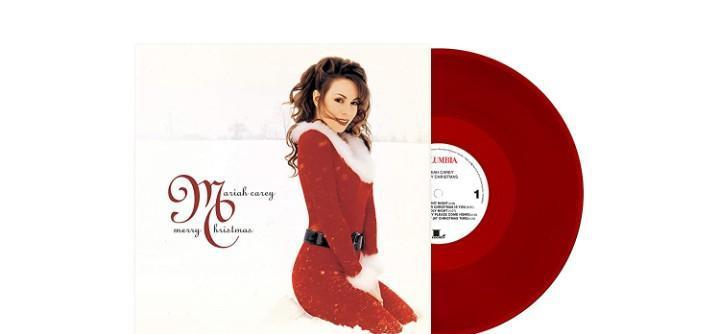 Mariah carey merry christmas (deluxe edition vinilo de color
