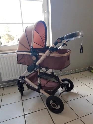 Carrito de bebé 3 en 1 cochecito de bebé silla de paseo, 3