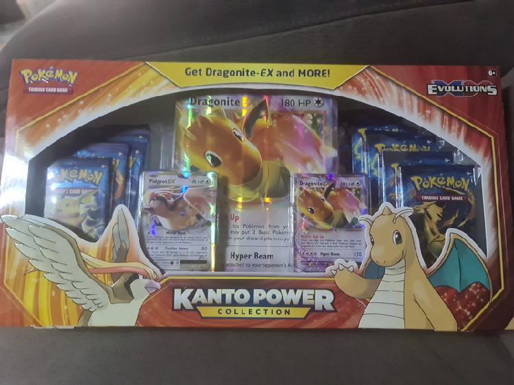 Pokemon kanto power collection dragonite-ex