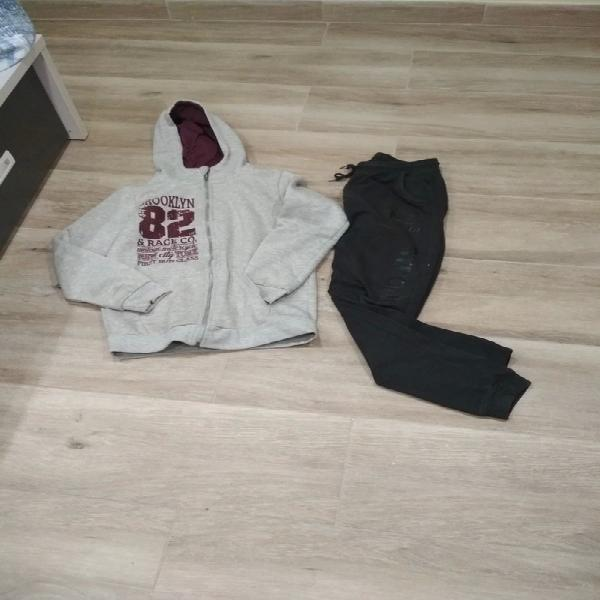 Sudadera con capucha + regalo pantalón