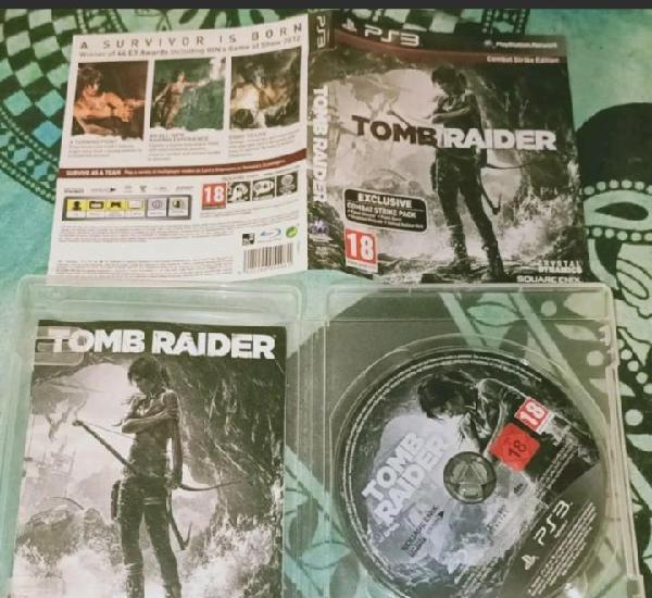 Tomb raider ps3 pal uk completo