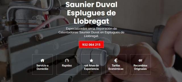 Servicio técnico saunier duval esplugues de llobregat 934
