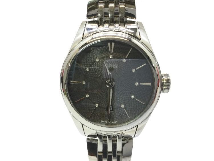 Reloj alta gama señora oris artelier date diamonds 01 561