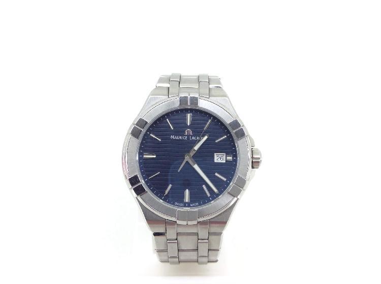Reloj pulsera caballero maurice lacroix aikon date