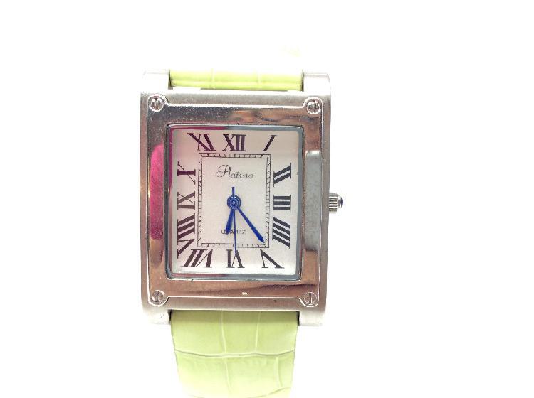 Reloj pulsera señora platino ce