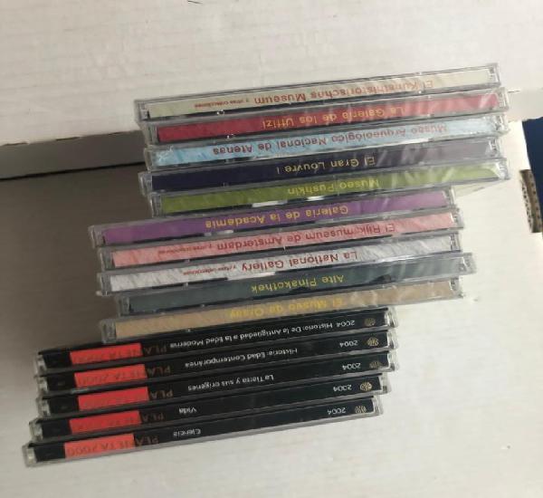 15 cds de museos y enciclopedias kreaten cd caja