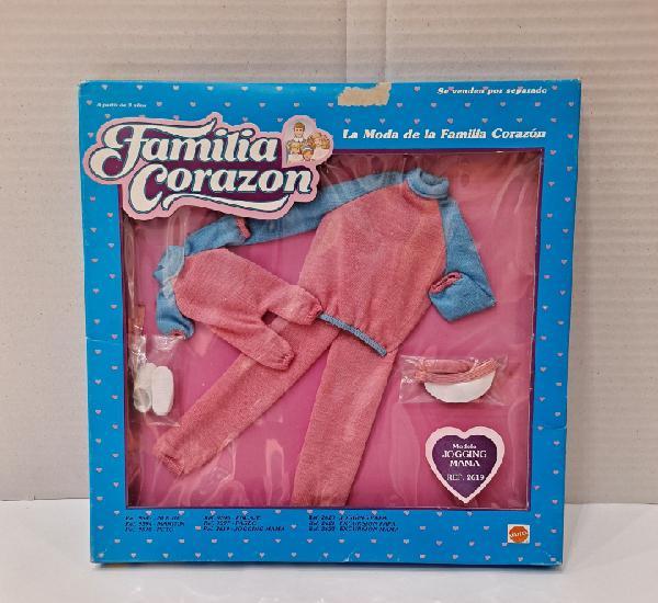 Familia corazón. vestido jogging mamá. nuevo en caja.