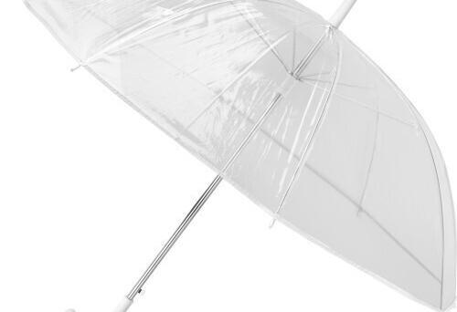 Paraguas transparente de poe