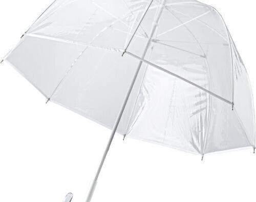 Paraguas transparente de pvc