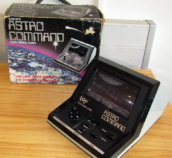 Antigua maquinita astro command, de epoch - funcionando y en