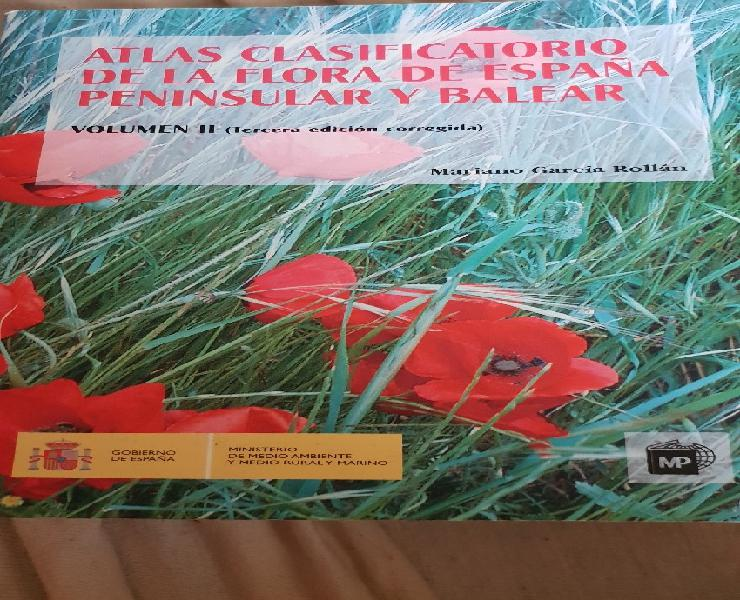Atlas clasificatorio de la flora de españa peninsular y
