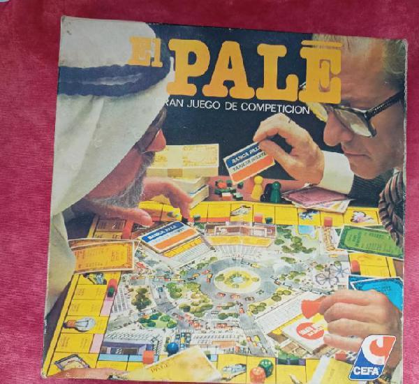 Juegos de mesa: el pale (caja cuadrada) - cefa, años 80 -