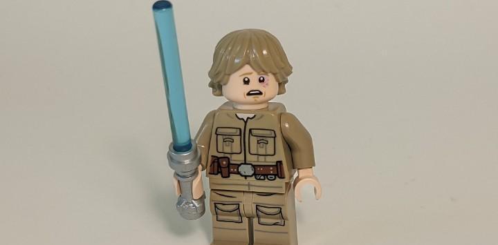 Luke skywalker (cloud city, bespin) 75222 75294 – lego