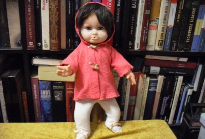 Pucheritos muñeca de toyse años 60 hay que lavar vestido,