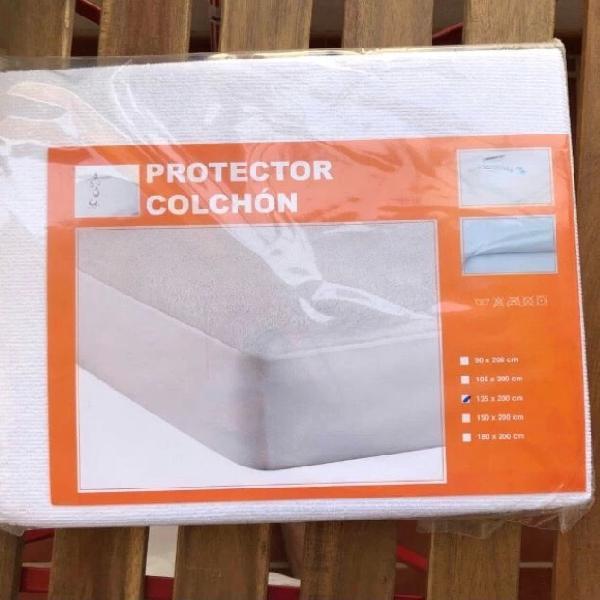 Protector colchón 135cm impermeable