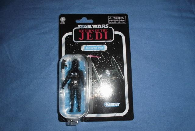 Tie fighter pilot. star wars - the vintage collection - vc65