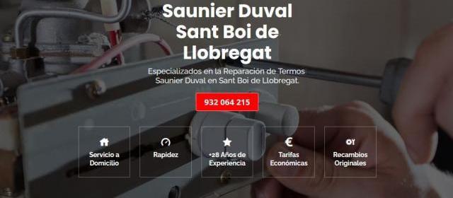 Servicio técnico saunier duval sant boi de llobregat 934