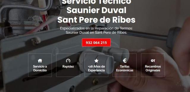 Servicio técnico saunier duval sant pere de ribes 934 242