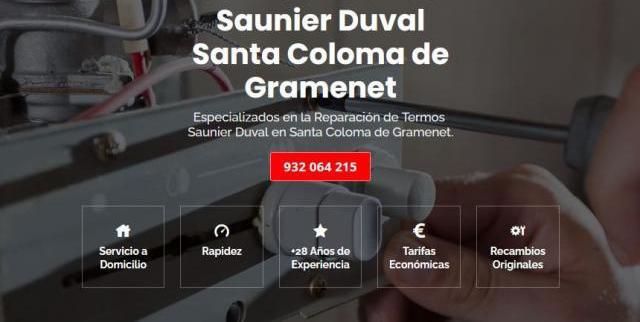 Servicio técnico saunier duval santa coloma de gramenet 934