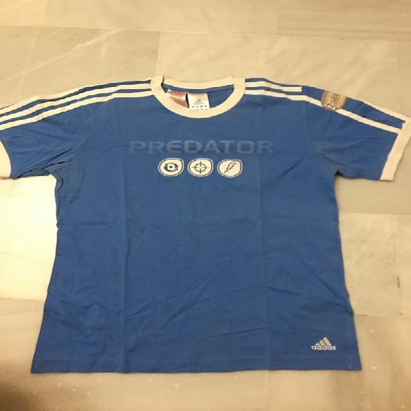 Camiseta adidas predator azul