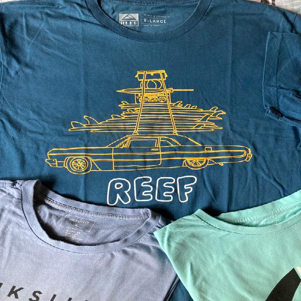 Camisetas manga corta marcas surferas xl