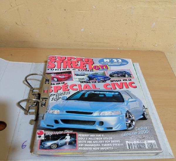 Lote de 6 revistas de coches tuneados y accesorios