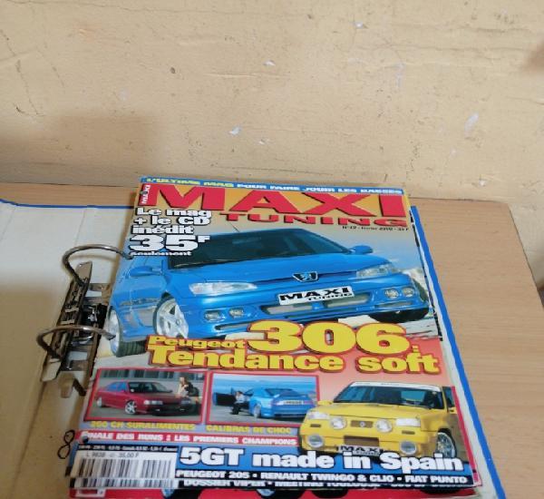 Lote de 8 revistas de coches tuneados y accesorios de tuning