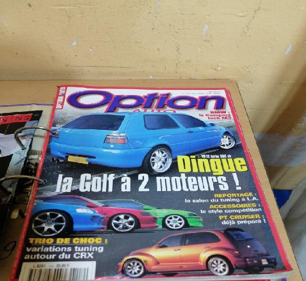 Lote de 9 revistas de coches tuneados y accesorios tuning