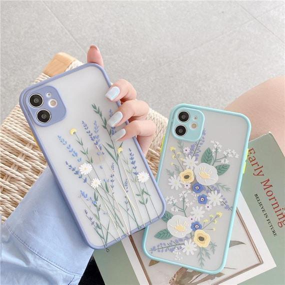 Lujo 3d relieve de la piel caso para el iphone 12 mini 11