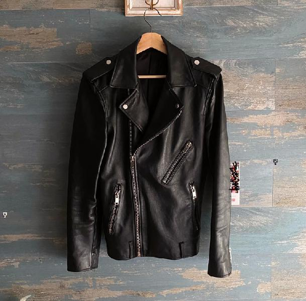 Zara leather jacket *real leather*