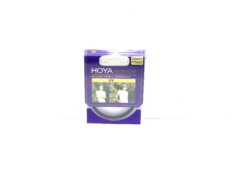 Filtro videocamara hoya uv 55s uv(0)