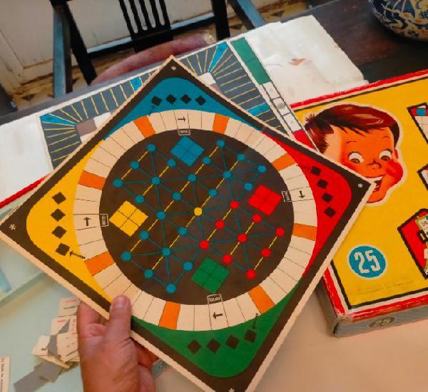 Cartón tablero del juegos reunidos 25 geyper años 60s para