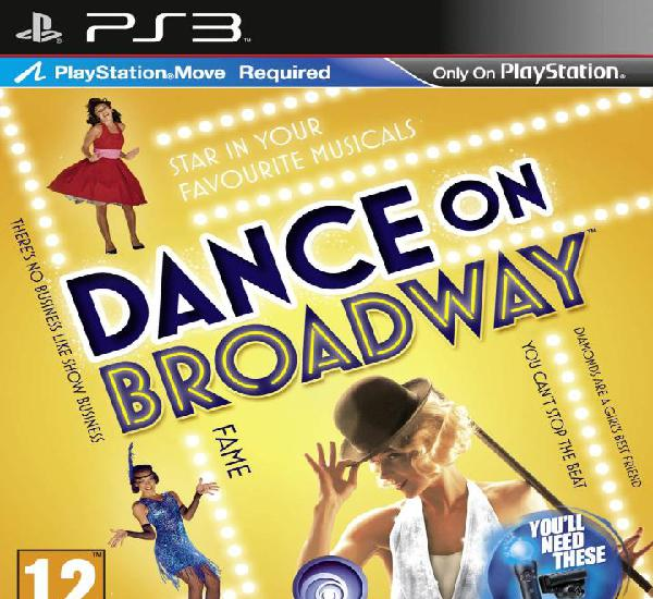 Dance on broadway (move) - ps3