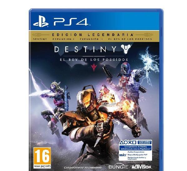 Destiny el rey de los poseídos edición legendaria