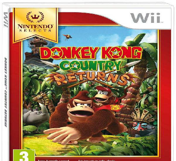 Donkey kong country returns selects - wii