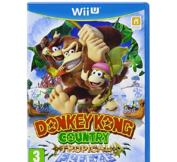 Donkey kong country tropical freeze - wii u