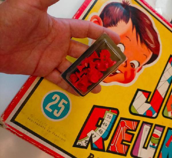 Fichas originales de juegos reunidos 25 geyper años 60s