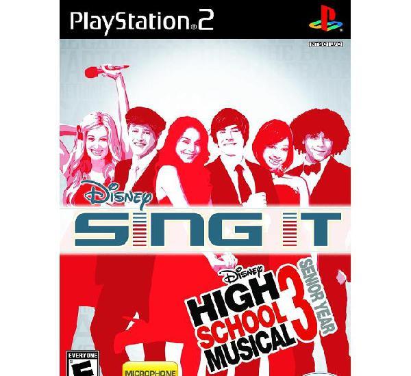 High school musical 3: fin de curso - ps2
