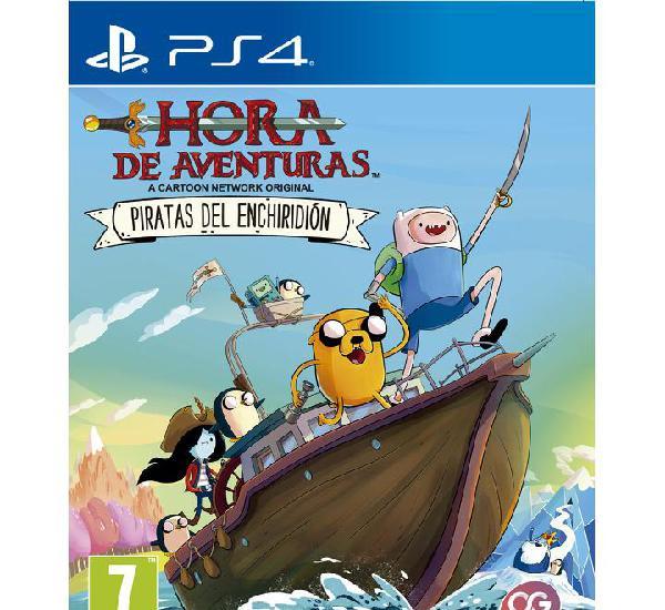 Hora de aventuras - piratas del enchiridion - ps4