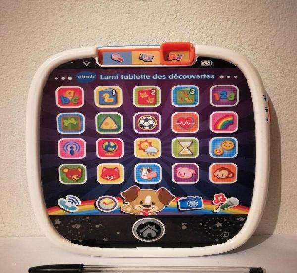 Juego musical - vtech lumi tablette des decouvertes - en