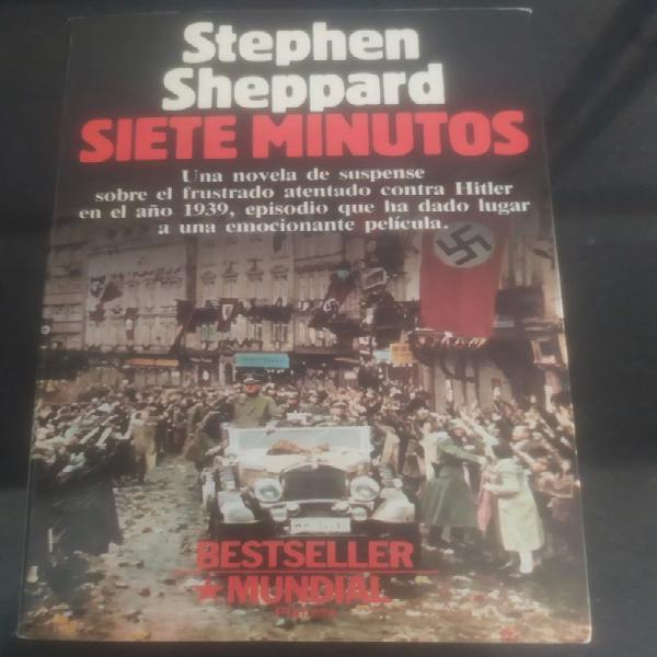 Novela siete minutos stephen sheppard buen estado novela