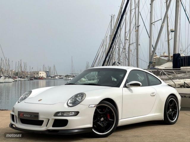 Porsche 911 carrera 4s coupe 355cv de 2007 con 130.000 km