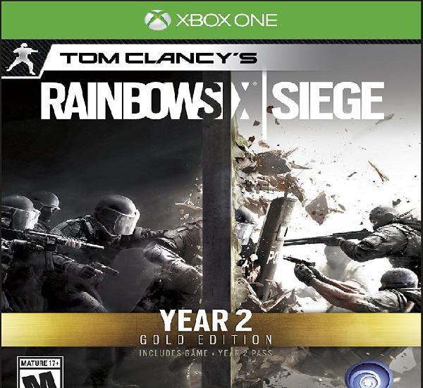 Rainbow six siege year 2 gold edition - xbox one