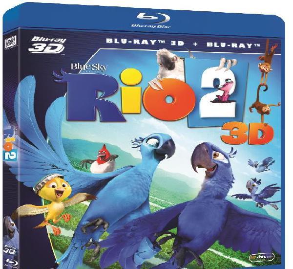 Río 2 (1 unidad bd 3d + 1 unidad bd) [blu-ray] [blu-ray]