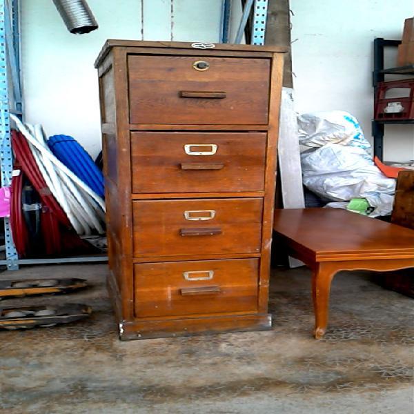 Compre la oportunidad de mueble 4 cajones,, madera