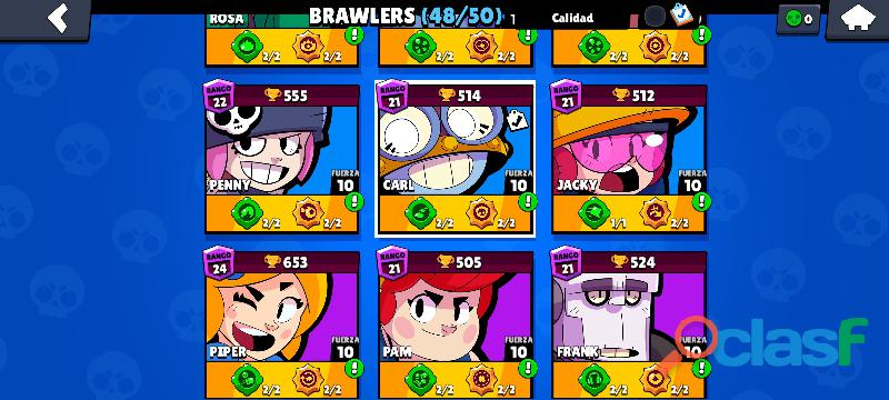 Cuenta brawl stars